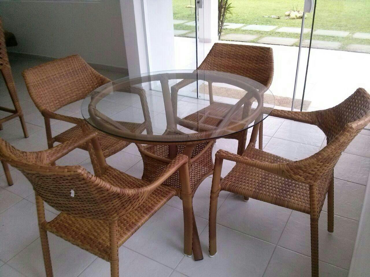 Mesa Salinas fibra Sintetica e Cadeira Chineza (2)