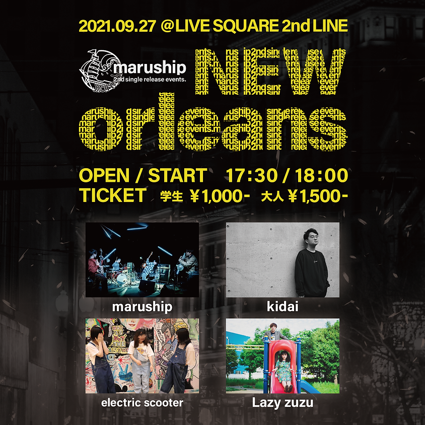 """maruship 2ndsingle release events.""""New orleans"""""""