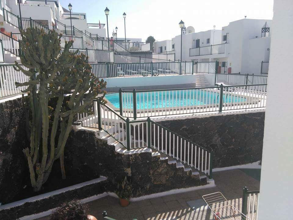 Bitacora complex swimming pool,lanzarote