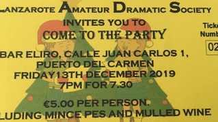 The Lanzarote Amateur Dramatic Society Christmas event