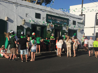 St Patrick´s day in Lanzarote 2019