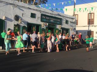 St Patrick's Day Celebrations in Lanzarote