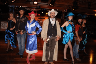 A great night out on Lanzarote , Yee Ha!