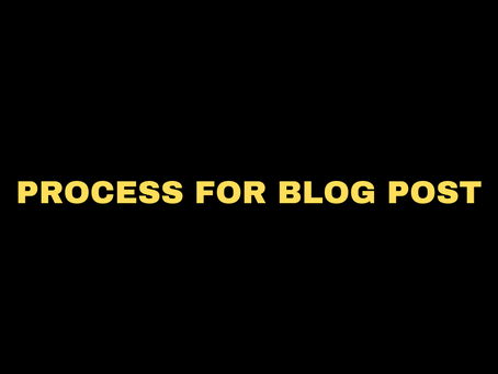 Who Else Wants To Enjoy PROCESS FOR BLOG POSTING?