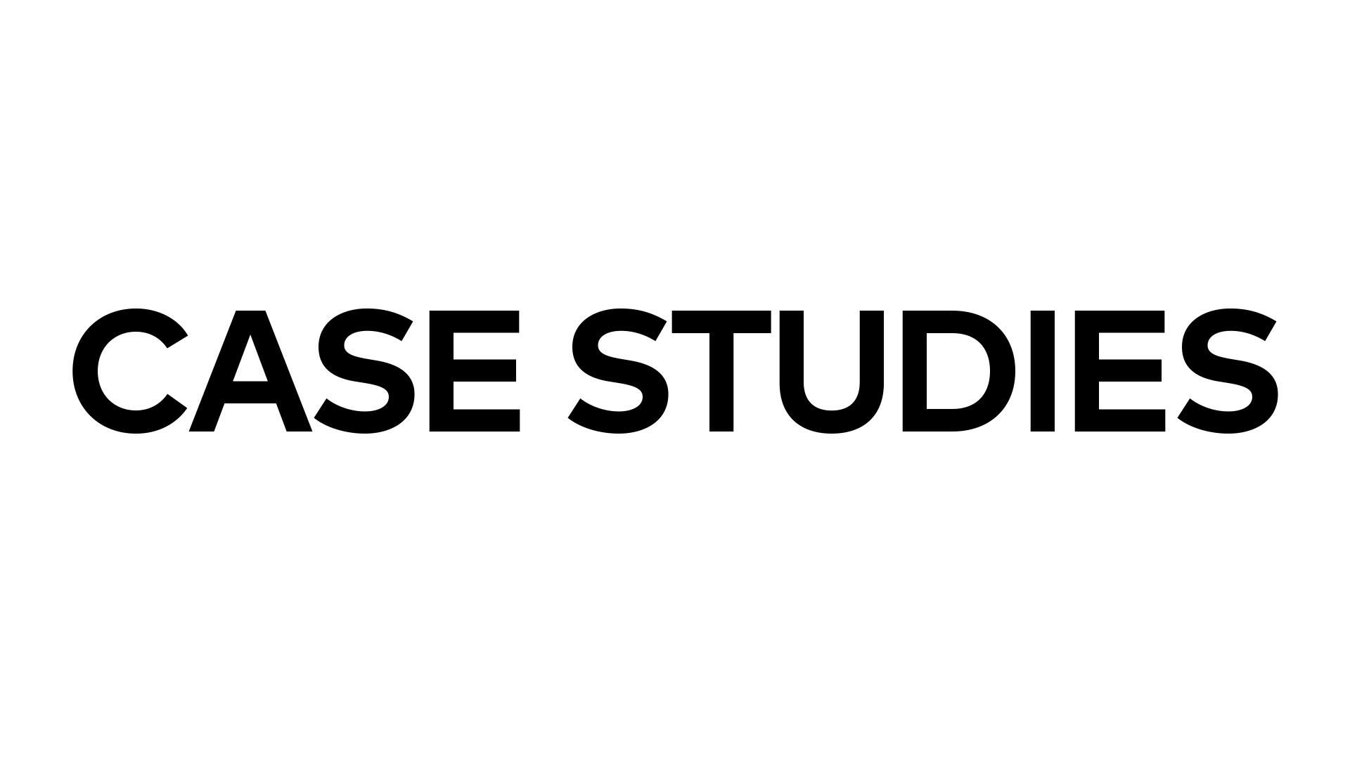 Case Studies, Video Case Studies