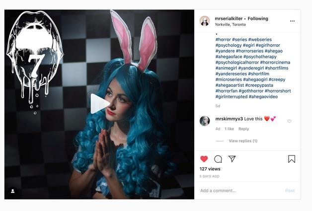 Instagram Web Serise - MSK