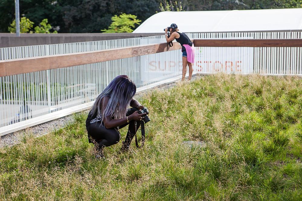 Photographer, Toronto, City Hall, Downtown, Purple hair, cameras, canon, the creators class, free agency