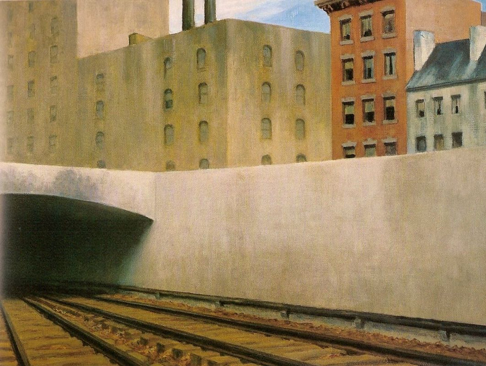Edward Hopper, Approaching A city