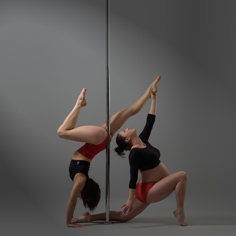 Chrome Spinners Pole Fitness 10