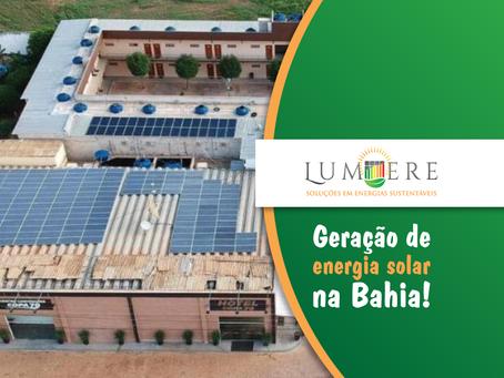 Baiano investe em instalação de placas de energia solar para reduzir custos em hotel