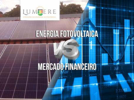 Energia fotovoltaica x Mercado financeiro: Qual melhor investimento?