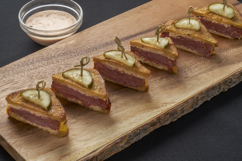 Mini Rueben Sandwiches