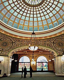 Chicago-Cultural-Center-Preston-Bradley-