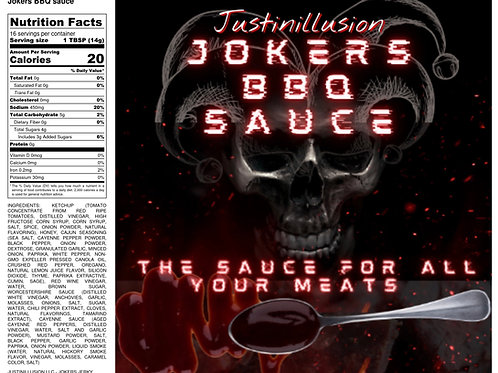 Jokers BBQ Sauce