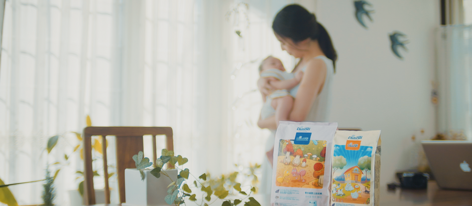 Diaper commercial video 紙おむつCM