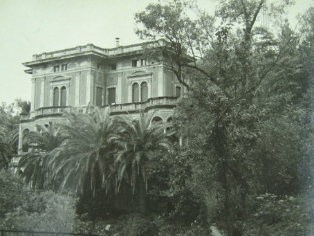 """The """"Villa delle Palme"""" school in Recco, the school of German Jewish refugees students in the 1930s"""