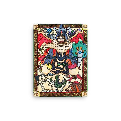 "Dragon Lords 12"" x 16"" Canvas Wrap"