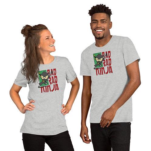 Mad Rad Ninja! Token Frame Unisex T-Shirt
