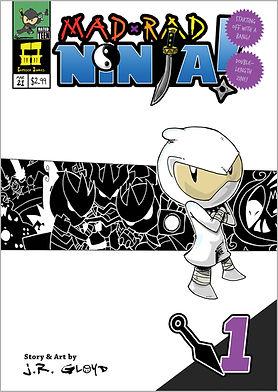 Mad Rad Ninja comic 1