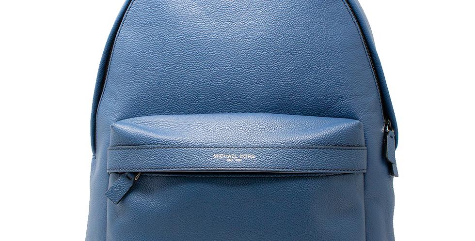 Backpack Michael Kors de piel azul acero