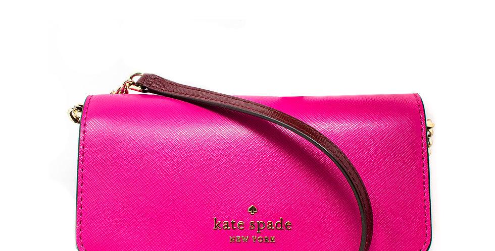 Crossbody Kate Spade multi rosa de piel para celular