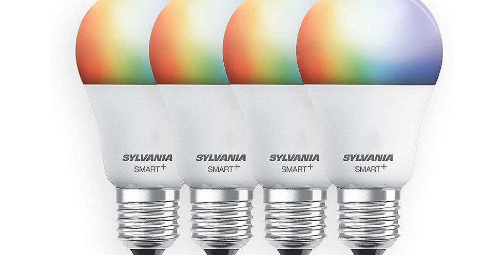 Sylvania Smart wifi juego de 4 focos a todo color