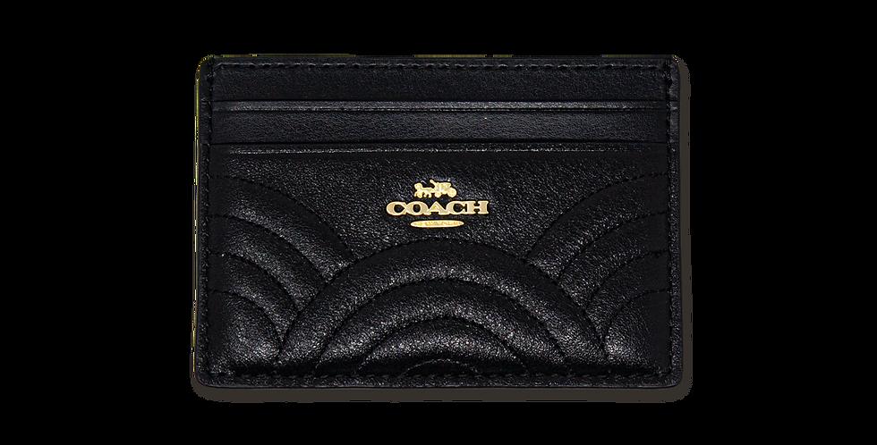 Tarjetero Coach clasico negro edicion especial
