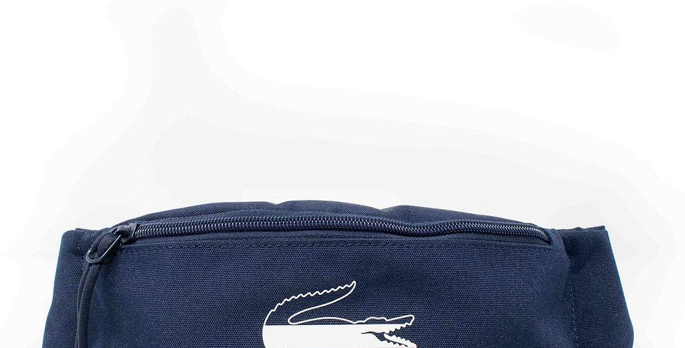 Cangurera Lacoste azul