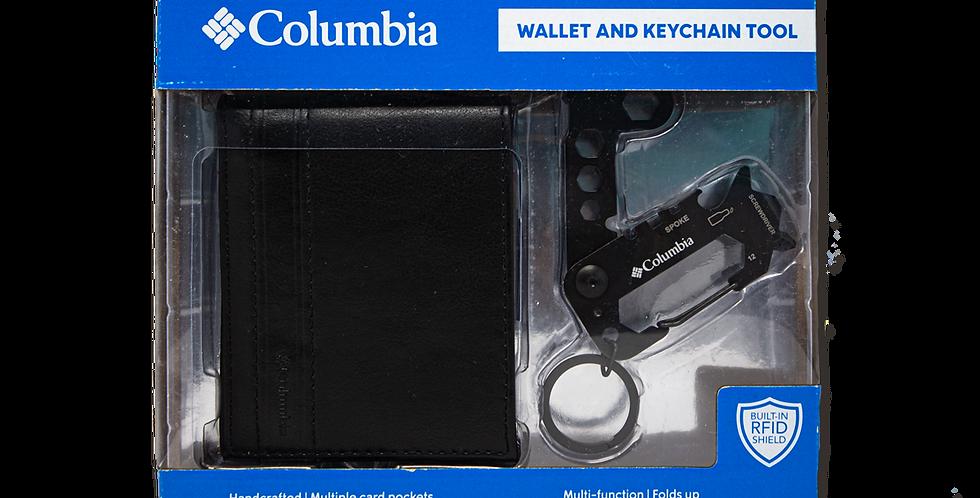 Kit Columbia cartera negra