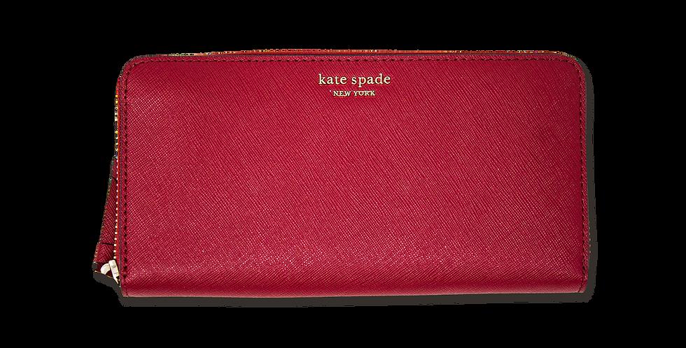 Cartera Kate Spade de piel roja