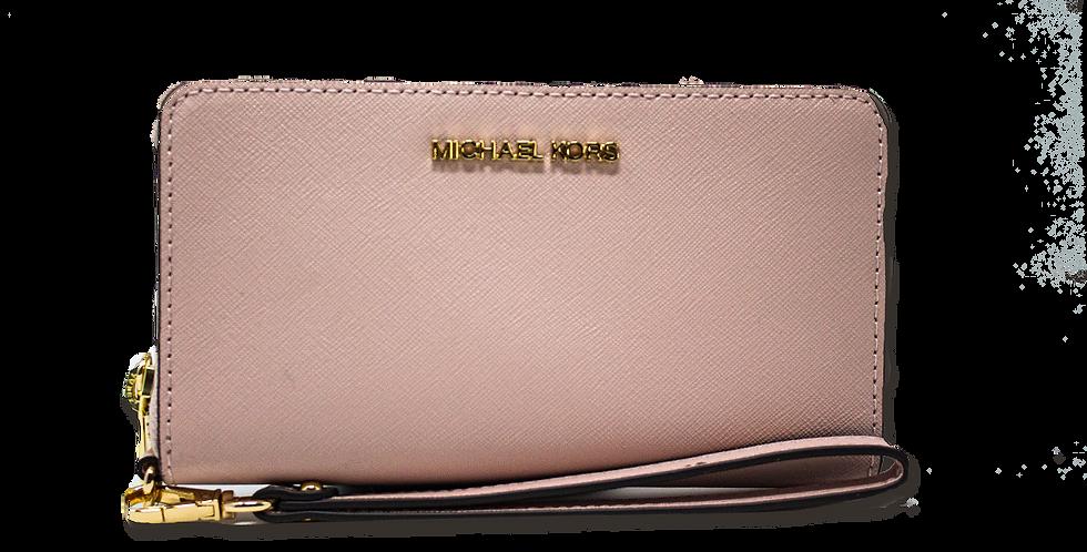 Cartera Michael Kors rosa de piel