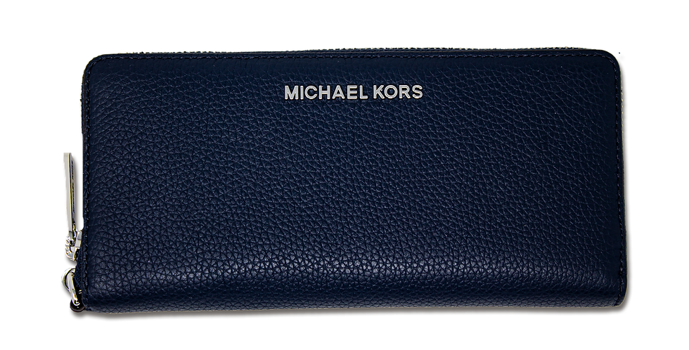 Cartera Michael Kors de piel azul