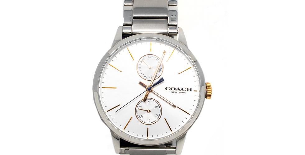 Reloj Coach color plata