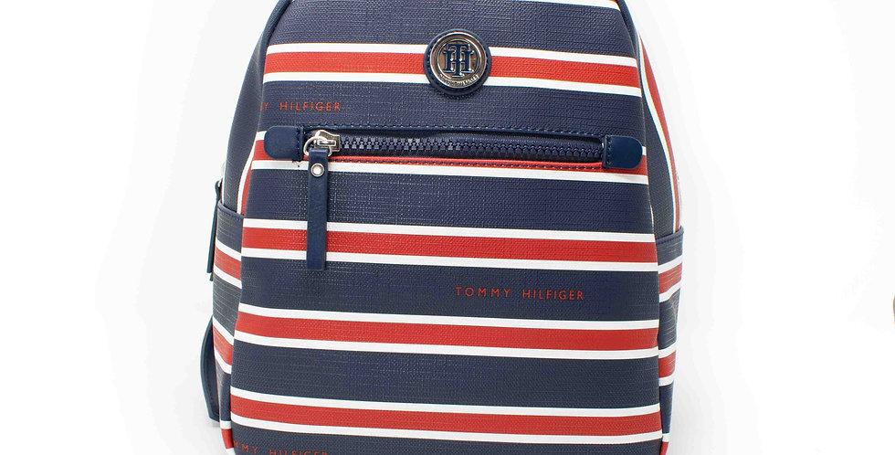 Backpack Tommy Hilfiger azul y rojo