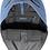 Thumbnail: Backpack Michael Kors de piel azul acero