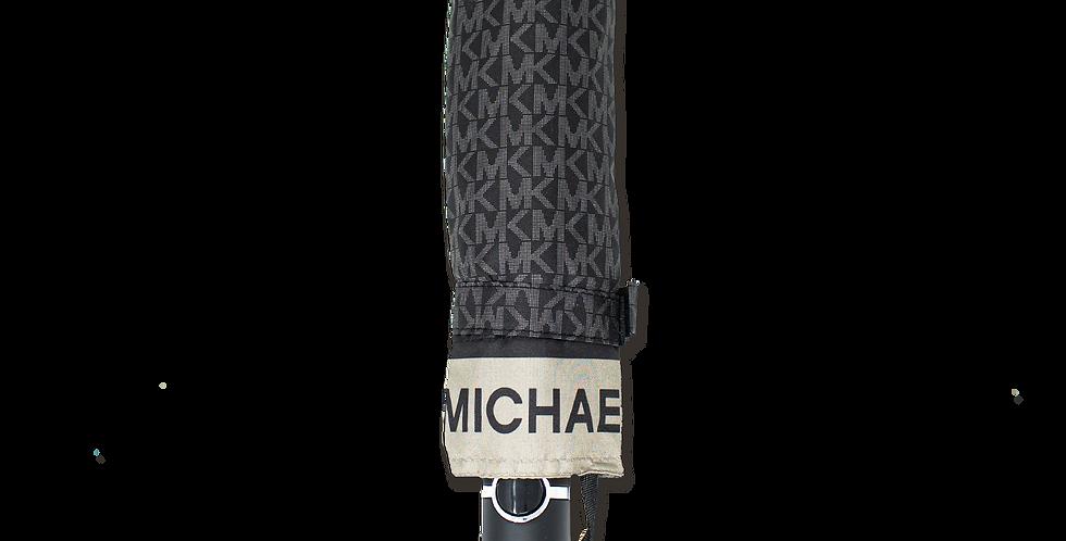 Paraguas Michael Kors negro