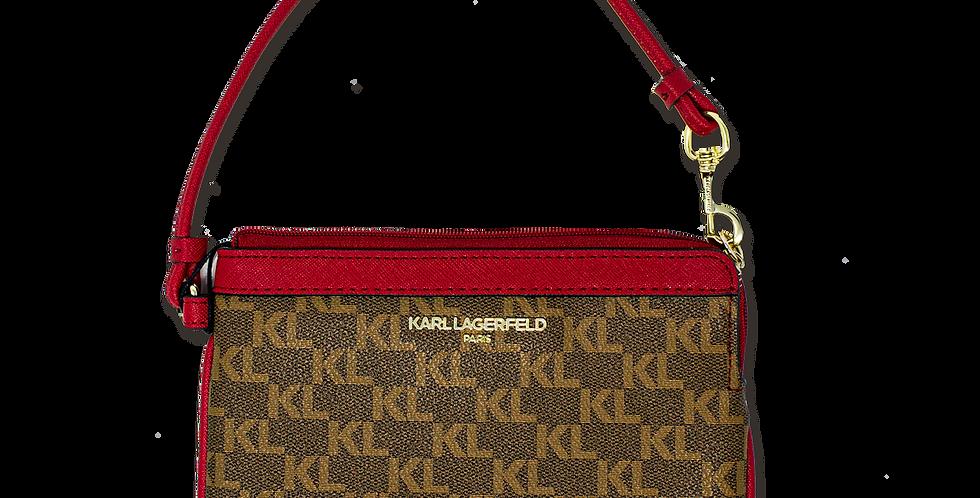 Muñequera Karl Lagerfeld monogramada