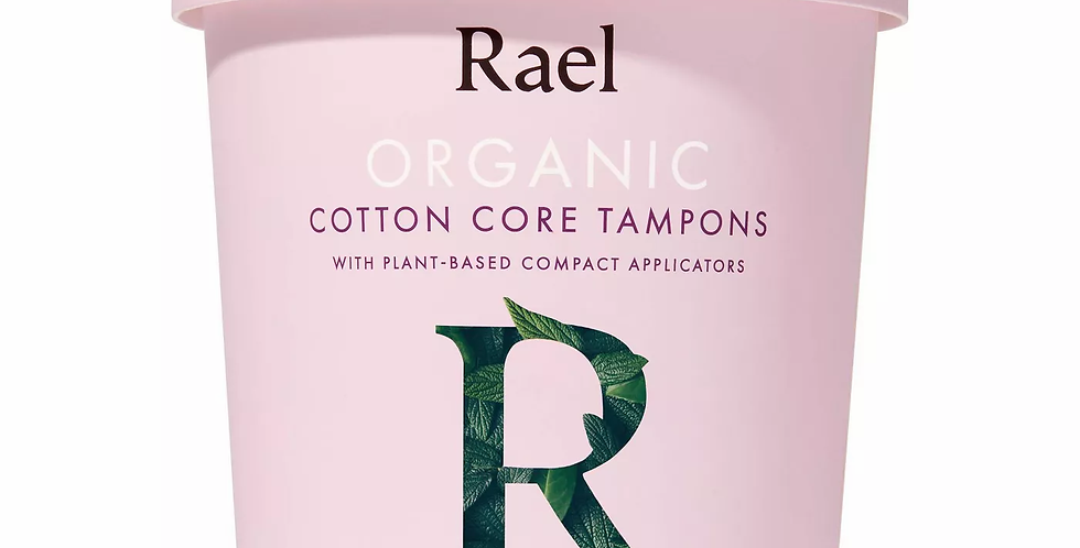 Rael Organic Cotton Tampons - 18ct