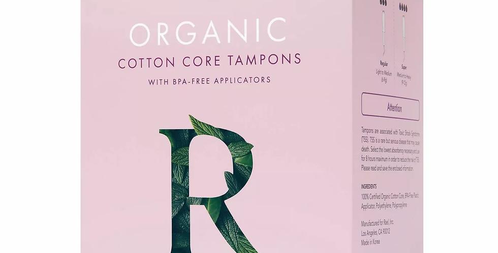 Rael Organic Cotton Tampons - Regular & Super Duopack 32ct