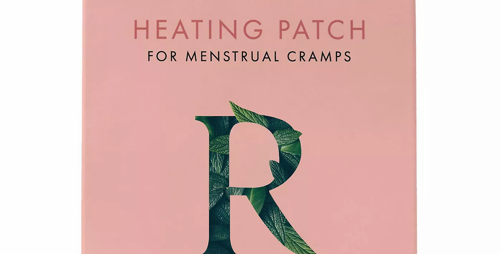 Rael Heating Patches for Menstrual Cramps - 3ct