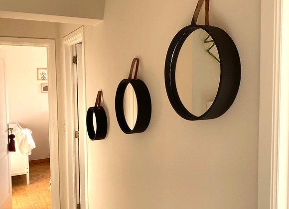 Miroir Ronda Noir