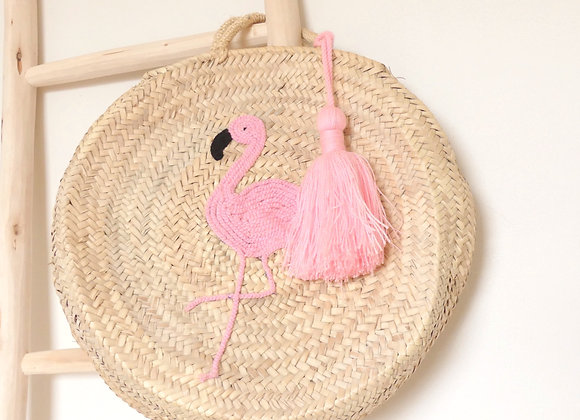 Sac : Flamant rose