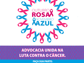 OAB de Raul Soares em apoio ao Outubro Rosa e Novembro Azul