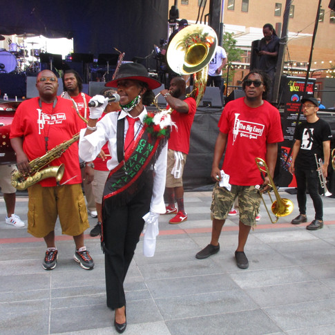 The City of Dallas Black Academy of Arts and Letters Presented the Riverfront Jazz Festival