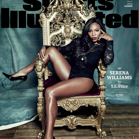 SI Names Serena Williams 2015 Sportsperson of the Year