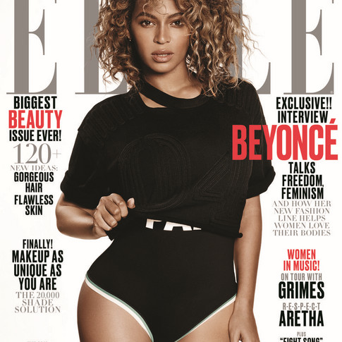 Beyoncé Talks to Elle Magazine about Fashion, Feminism and What's Next!