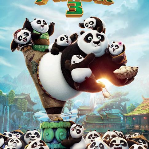 Movie Review-Kung Fu Panda 3