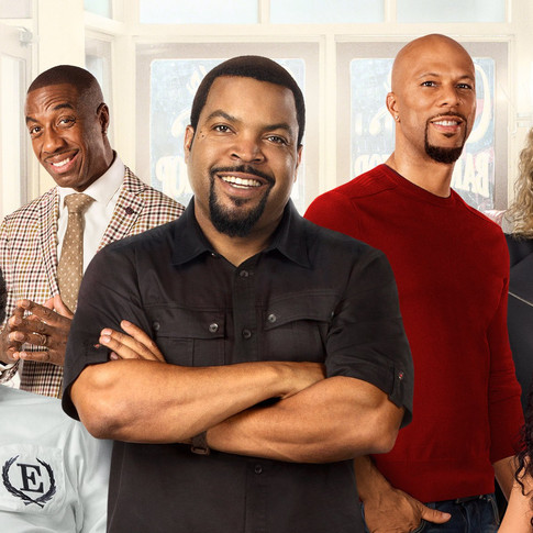 Ice Cube and Cedric the Entertainer Talk about Barbershop 3.