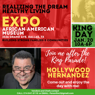 Healthy Living Expo on MLK Day