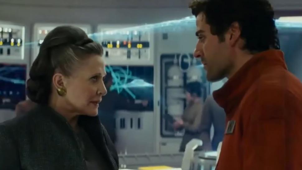 Leia and Poe